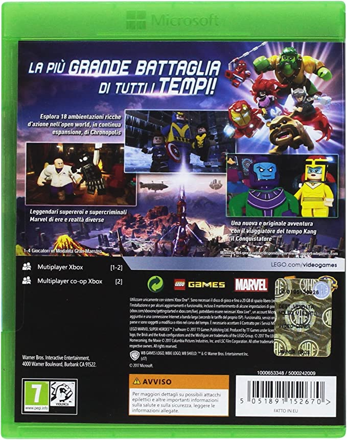 Lego Marvel Superheroes 2: Amazon.es: Videojuegos