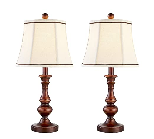 Table Lamps, DILI HOME Desk Decorative Lamp Vintage Style Set Of Two  Bedroom Lamps Lights