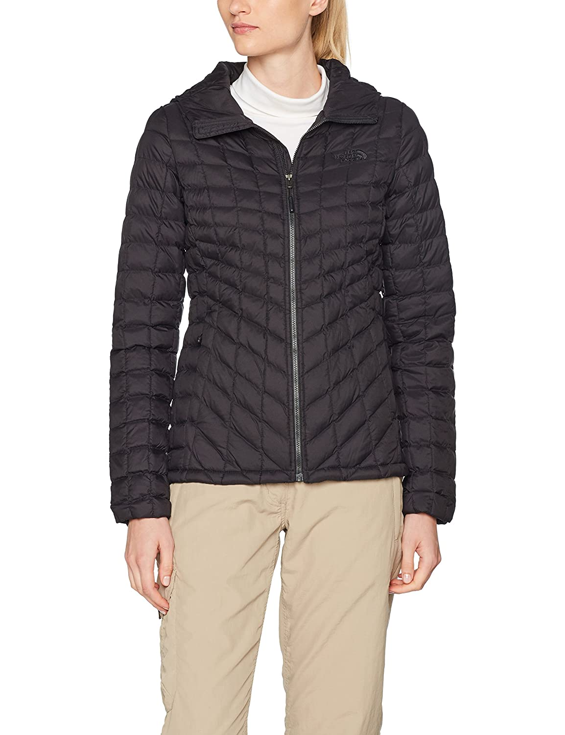 (Small, Tnf Black Matte) - The North Face Women's Thermoball Hoodie Jacket B071711ZYD
