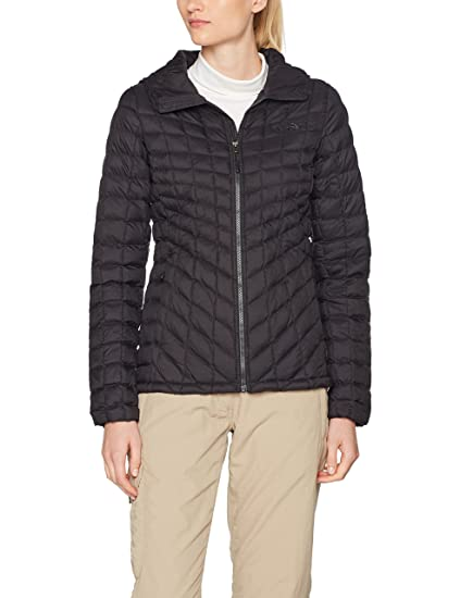 Amazon.com: The North Face Ladies Thermoball Hoodie TNF ...
