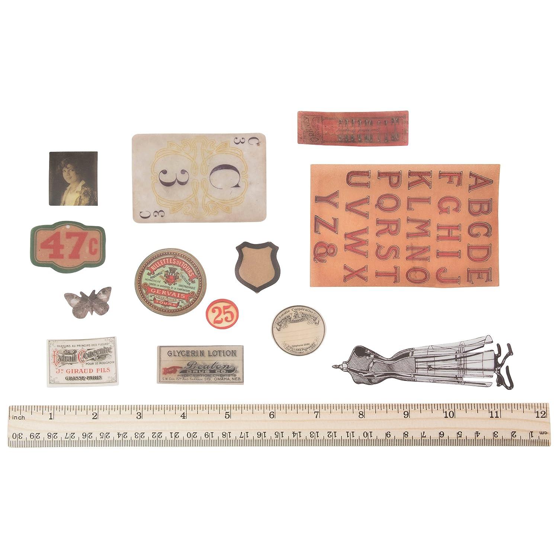 Idea-Ology Pergamena Ephemera 54//Pkg-Pergamena Thrift Shop
