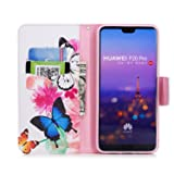 Funyye Magnetic Flip Cover Leather Case for
