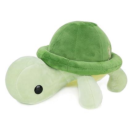 amazon com bellzi green turtle stuffed animal plush toy adorable