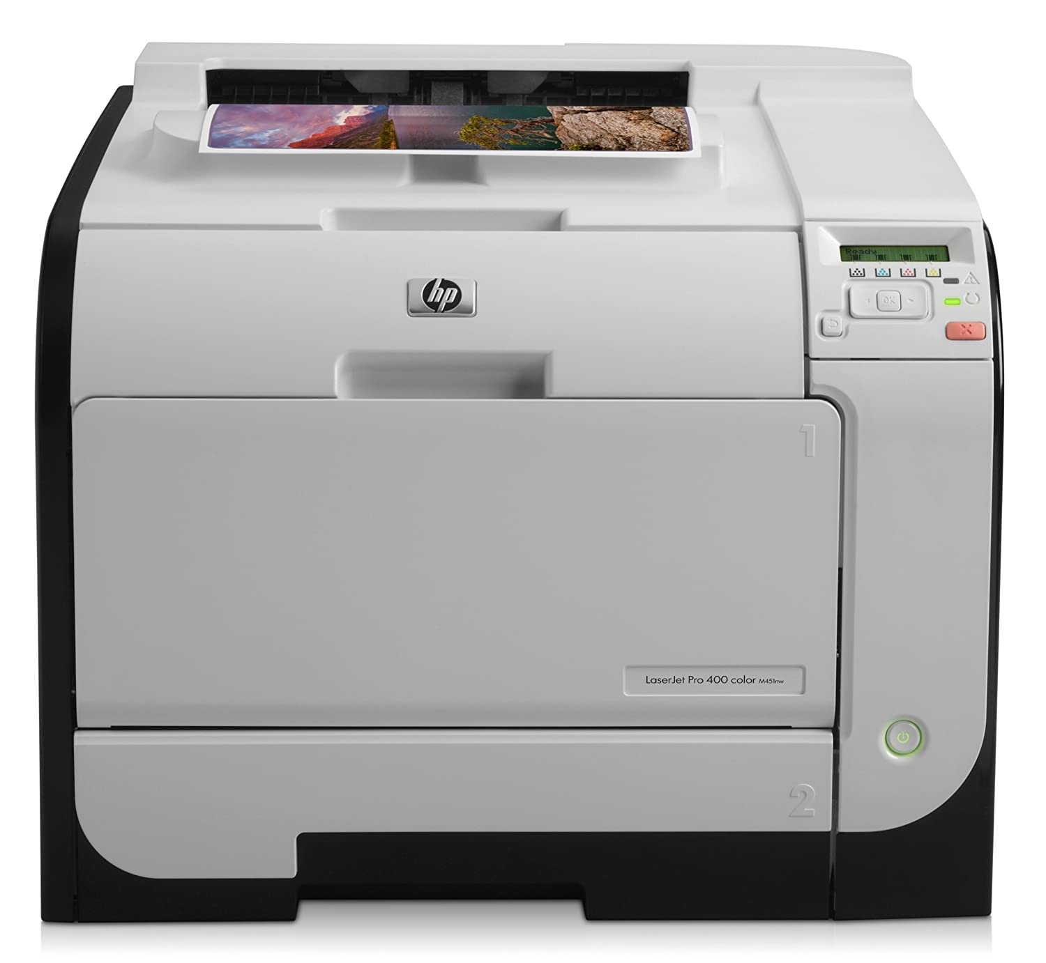 HP Laserjet Pro 400 M451nw Color Printer (CE956A) (Discontinued by Manufacturer) (Renewed)