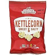 Popcorn Indiana Gourmet Original Popcorn Kettlecorn Popped 1 Oz. (Pack of 24)