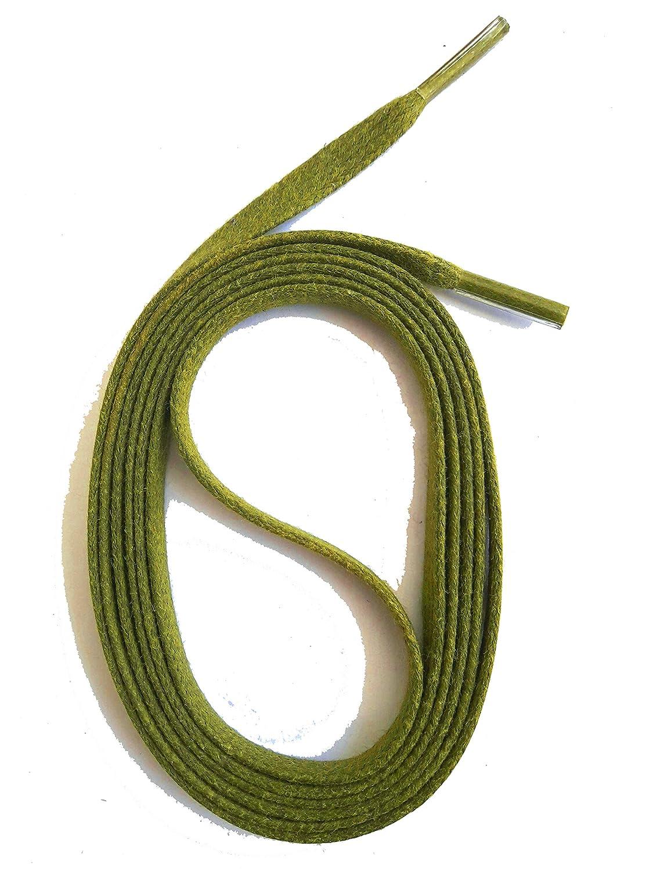 SNORS LACETS de COULEUR PLATS cir/és ca 2 longueurs Dentelles 20 couleurs 5mm