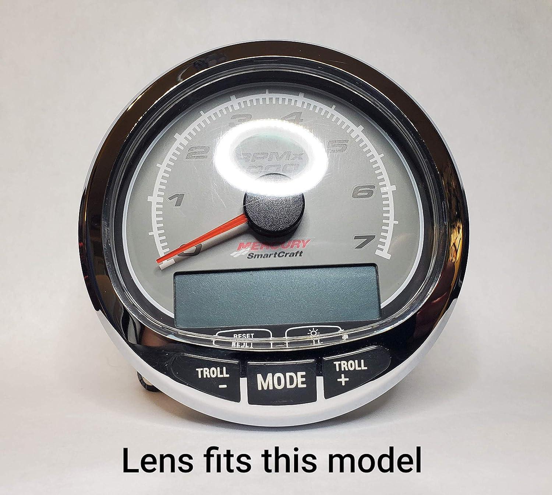 Mercury SmartCraft SC1000 Gauge Polycarbonate Lens Replacement