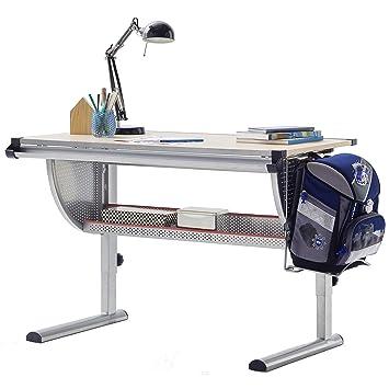 Robas Lund Schreibtisch Für Kinder Höhenverstellbar Buche Bht Ca