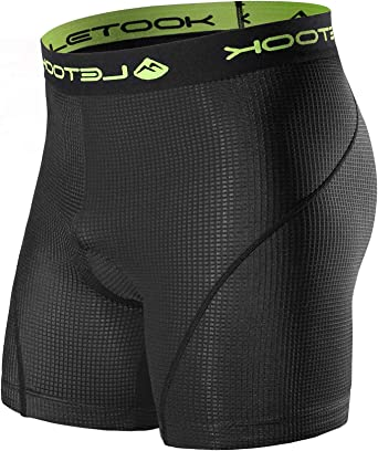 Santic Men Cycling Shorts Bicycle Underwear Breathable Undershorts 3D Padded