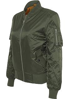 Urban Classics Damen Jacke Ladies Satin Bomber Jacket  Amazon.de ... 160f1b4b83