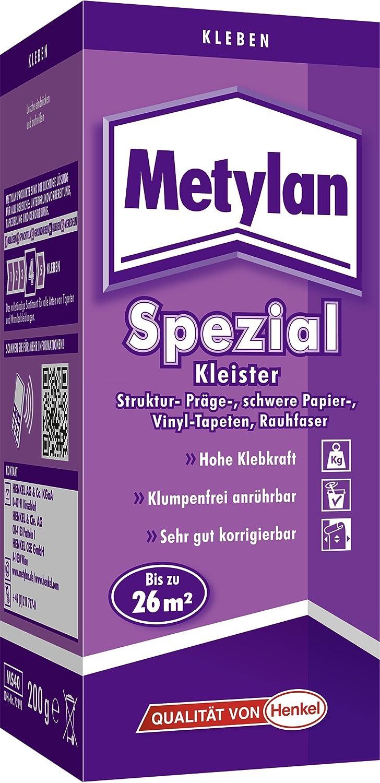 Metylan spezial Kleister mit extra Power (Jetzt mit 10% Leistungsplus durch Henkel-MCX-Technologie) Universal MS 40