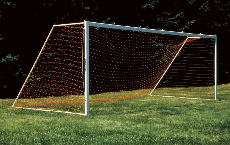 Orange Soccer Net