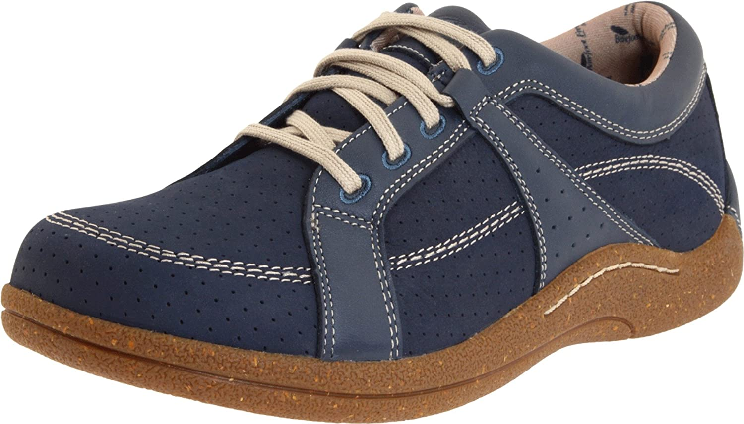 Drew Shoe Women's Genevar Oxfords B0058ZUITK 5 B(M) US|Denim Leather/Nubuck