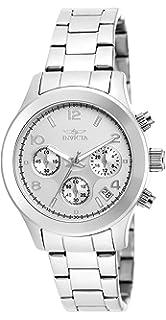 Invicta Womens 19216 Angel Analog Display Japanese Quartz Silver Watch