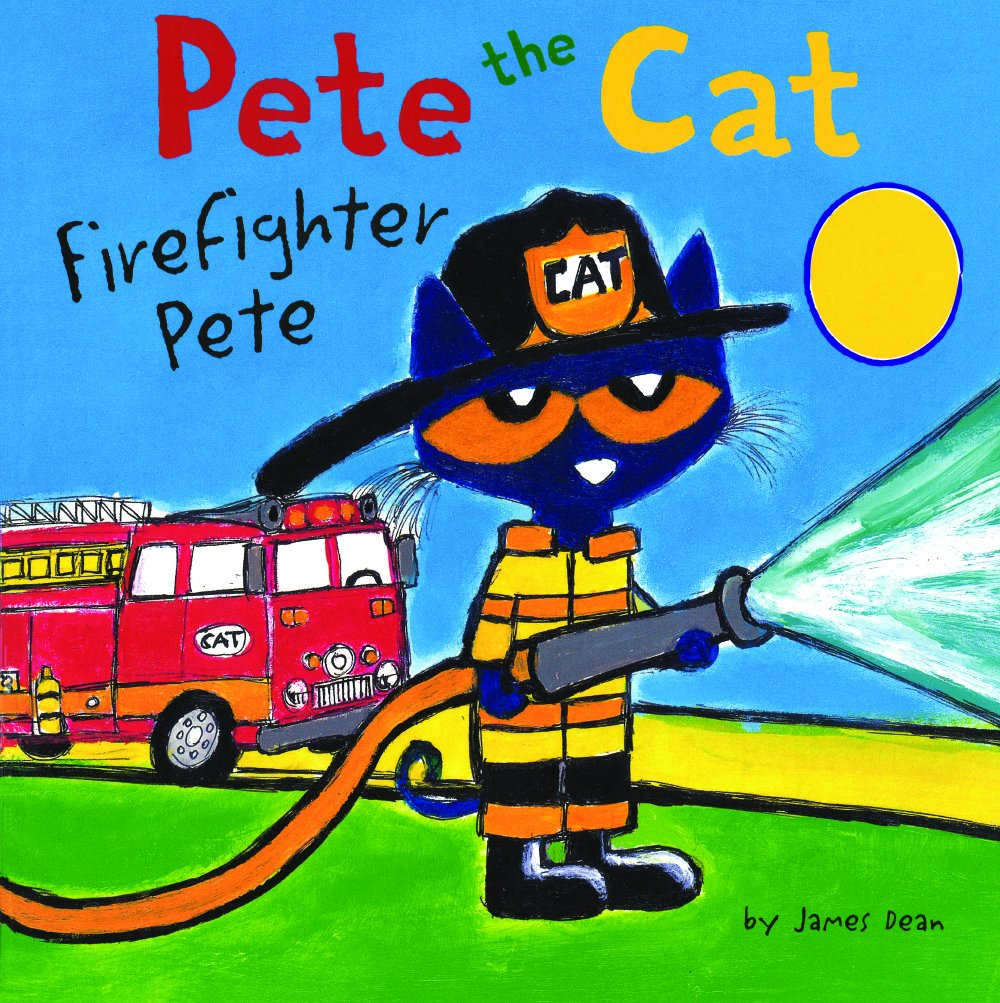 Firefighter Pete (Pete The Cat) (Turtleback School & Library Binding Edition)