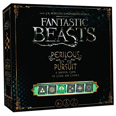USAOPOLY Fantastic Beasts Perilous Pursuit Cooperative Dice Game | Harry Potter Fantastic Beasts and Where to Find Them Movie | Officially Licensed Harry Potter Game: Toys & Games