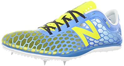 New Balance Men\u0027s MLD5000 Spike Track Shoe,Blue/Yellow,13 ...