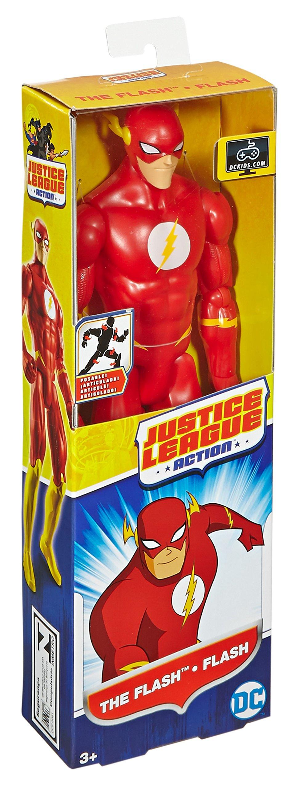 Justice League Action The Flash Figure, 12'' by Mattel (Image #5)