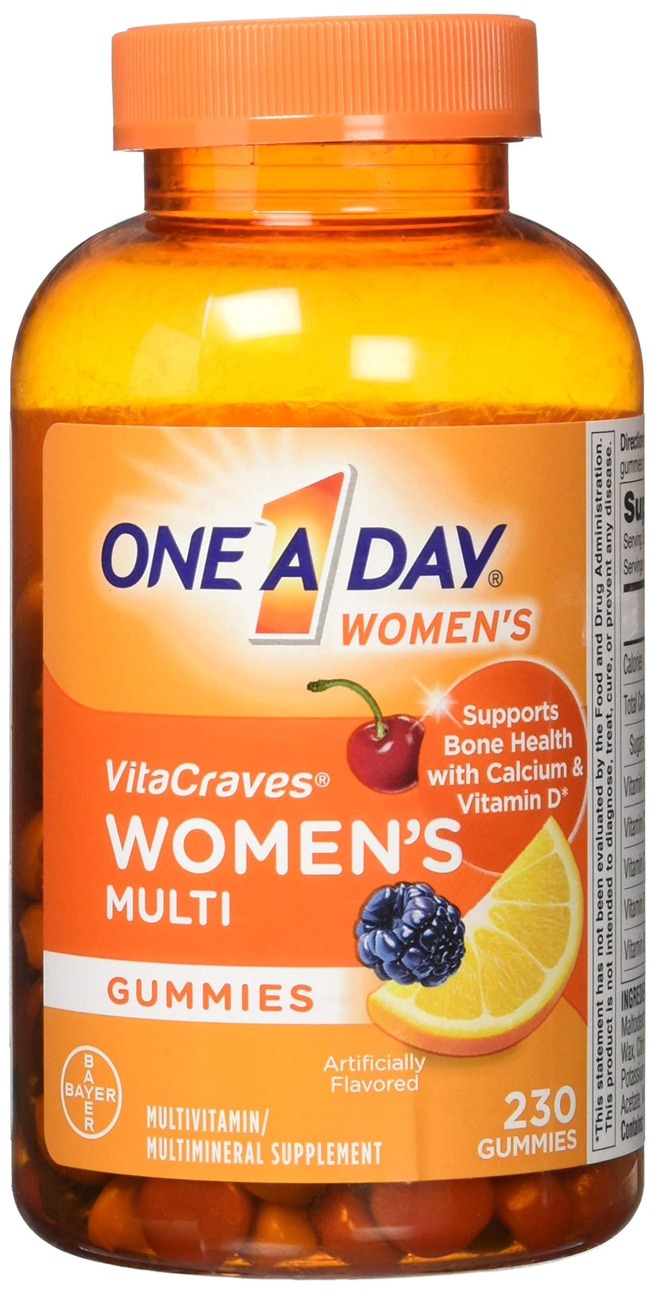 One A Day Women's Multi Gummies (230 Count), 230 Count