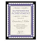 Southworth PF18 Certificate Holder, Black, 105lb