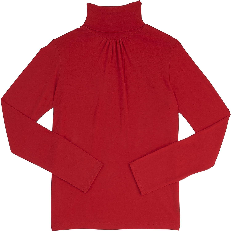 French Toast School Uniform Girls Long Sleeve Turtleneck T-Shirt