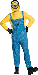 Rubieu0027s Menu0027s Despicable Me 3 Movie Minion Costume  sc 1 st  Amazon.com & Amazon.com: Rubieu0027s Despicable Me 2 Adult Minion Dave Blue/Yellow ...