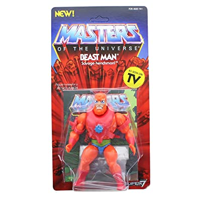 Super7 Masters of The Universe Vintage Collection Wave 2 | Beast Man: Toys & Games [5Bkhe0300946]