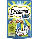 Dreamies Mix Cat Treats with Salmon and Tuna, 60 g - Pack of 8