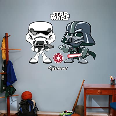 Simple Darth Vader u Storm Trooper POP wall decals