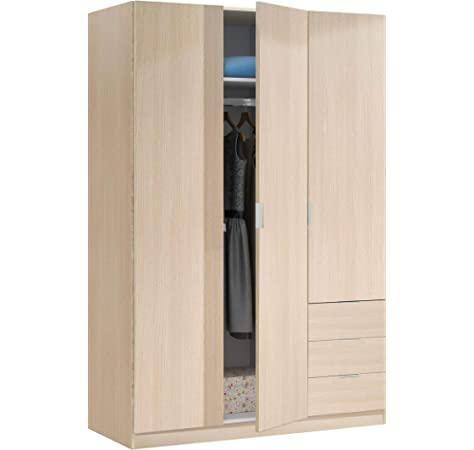 Habitdesign LC7820O - Mesita de Noche Color Roble, Book Oficina ...
