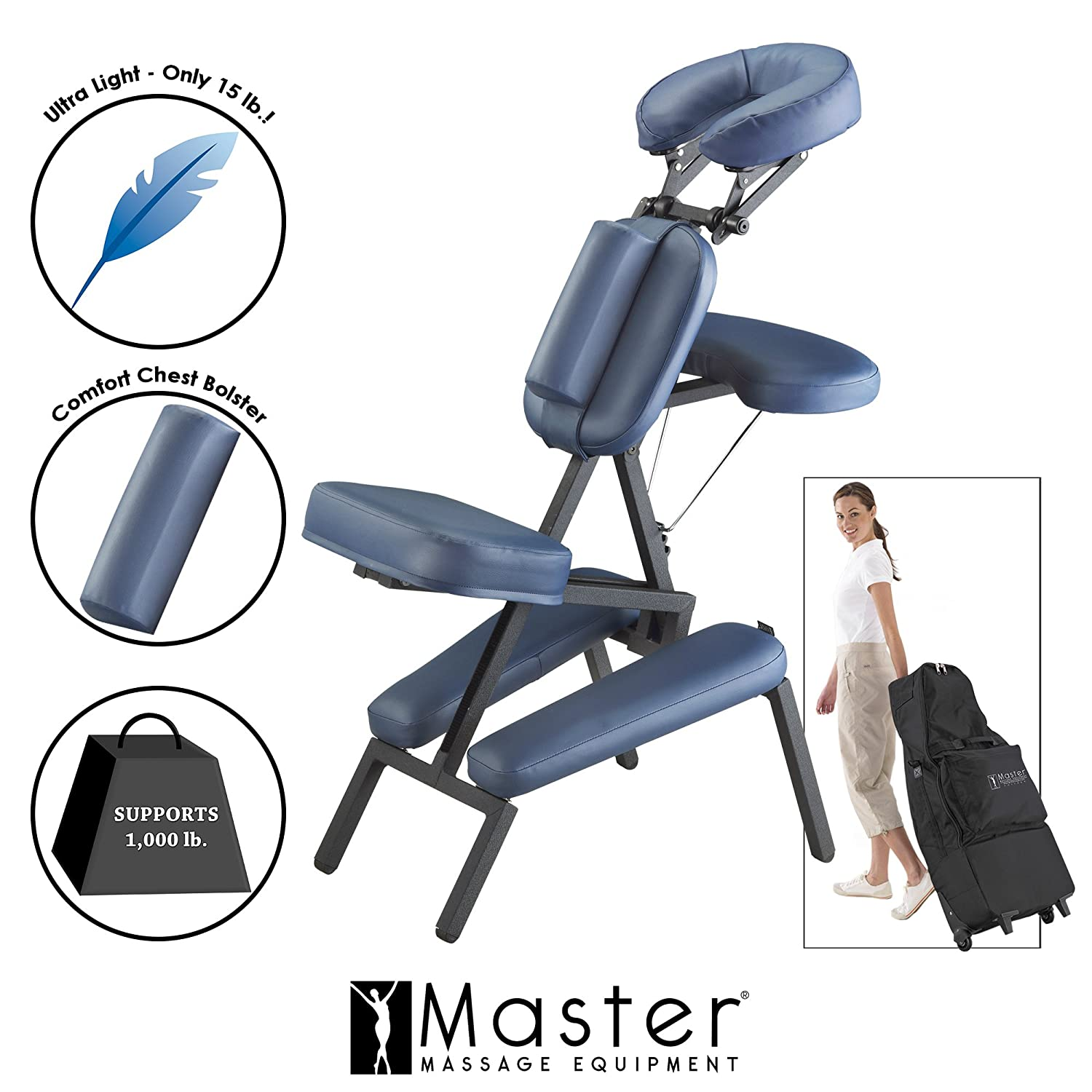 Amazon Master Massage Professional Portable Massage Chair