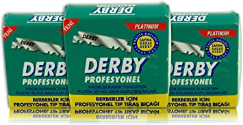 Hojas profesionales Derby - hojas de afeitar derby - 100 piezas en ...