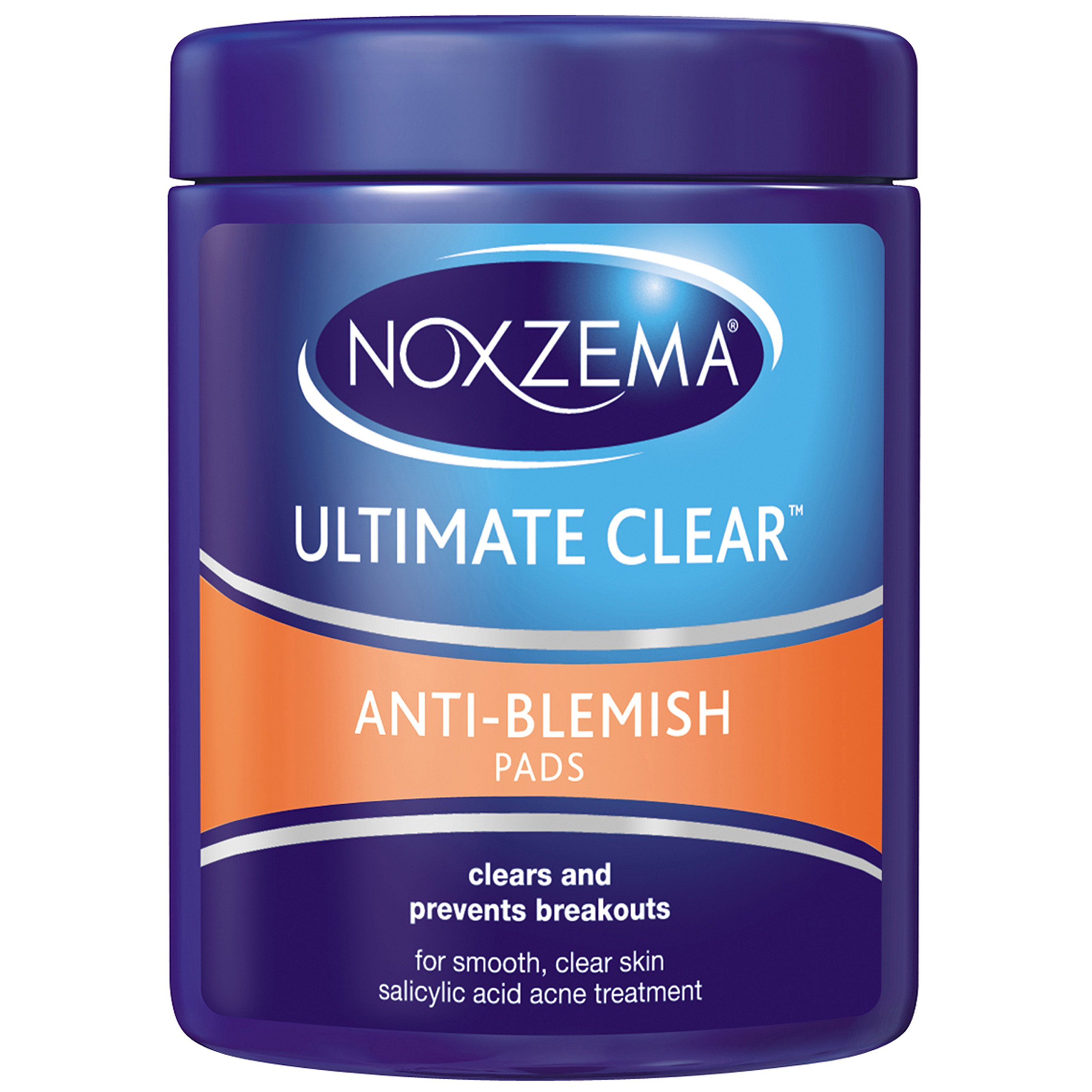Noxzema Ultimate Clear Pads Anti Blemish, 90 ct