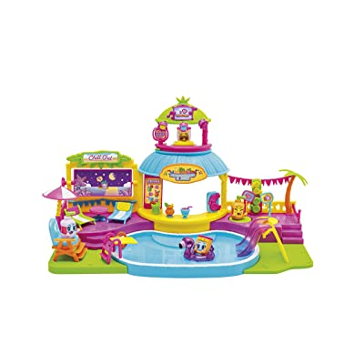 MOJIPOPS - Pool Party con 2 exclusivas figuras MojiPops y variedad de accesorios: Juguetes y juegos