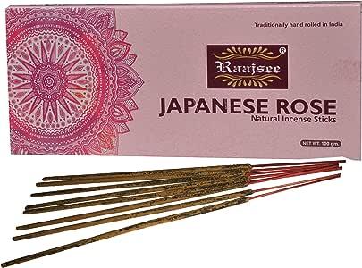 Raajsee - Varillas de incienso (100 g), rosa (b), 100 gm