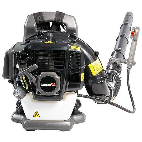 gartenxl EB430 profesional Gasolina Soplador De Hojas con respaldo acolchado y zuvärlässigem de 2 del motor de con 43 Ccm