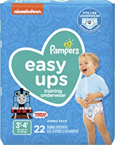 Pampers Easy Ups Training Underwear Boys Size 5 3T-4T 22 Count