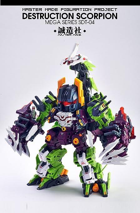 Amazoncom Transformers Master Made Sdt 04 Destruction Scorpion