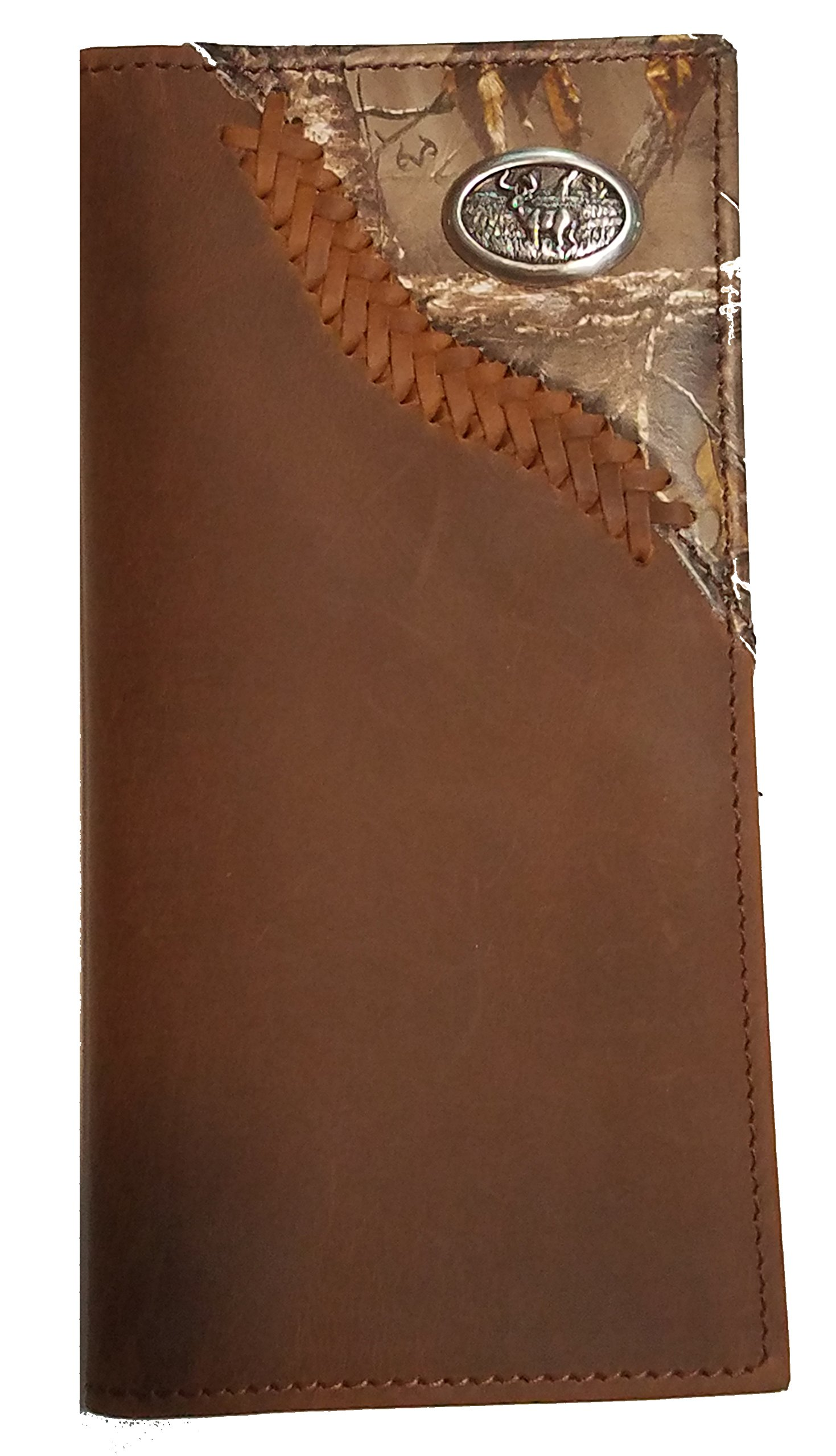 Origional Buck Camo Corner long wallet by Genuine Texas Brand (Image #1)