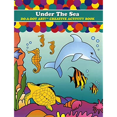 Do A Dot Art! Under The Sea Creative Activity Coloring Book: Home & Kitchen