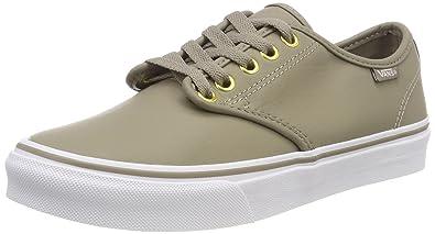 Vans Damen Camden Stripe Synthetic Leather Sneaker: Amazon