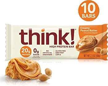 10-Count think! Creamy Peanut Butter High Protein Bars