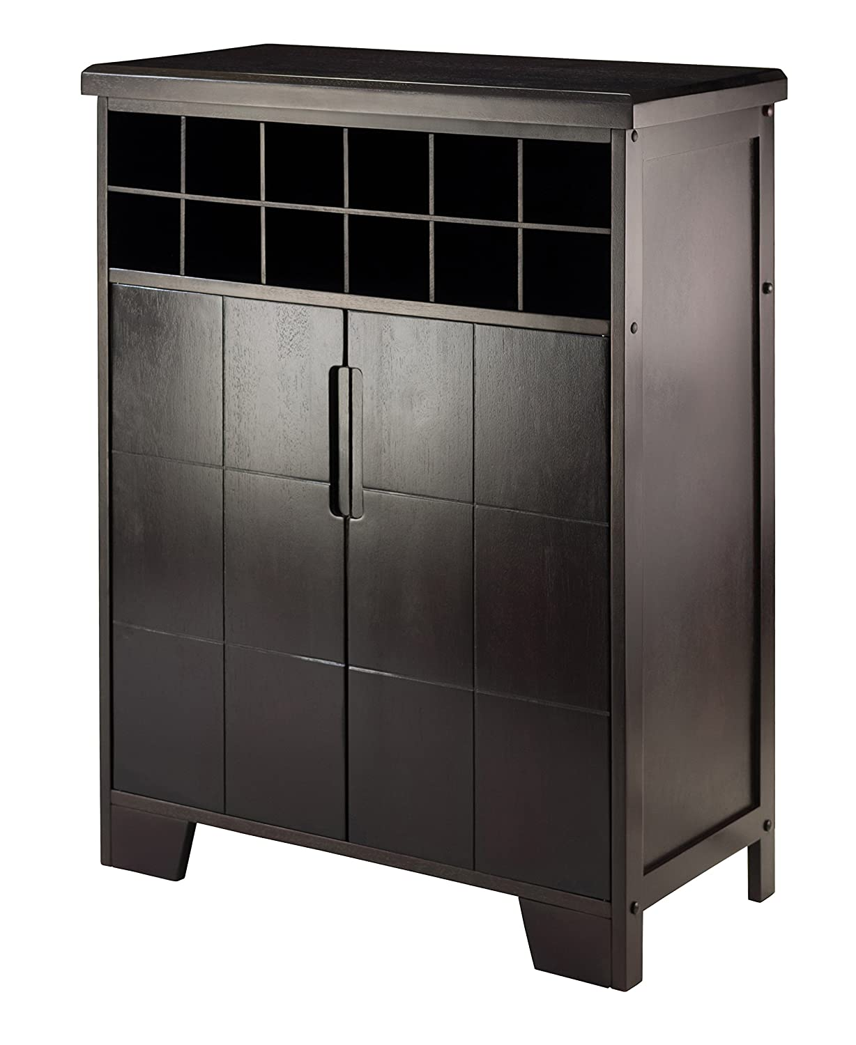Winsome Wood 92632 Bonnay Wine Cabinet Winsome Trading
