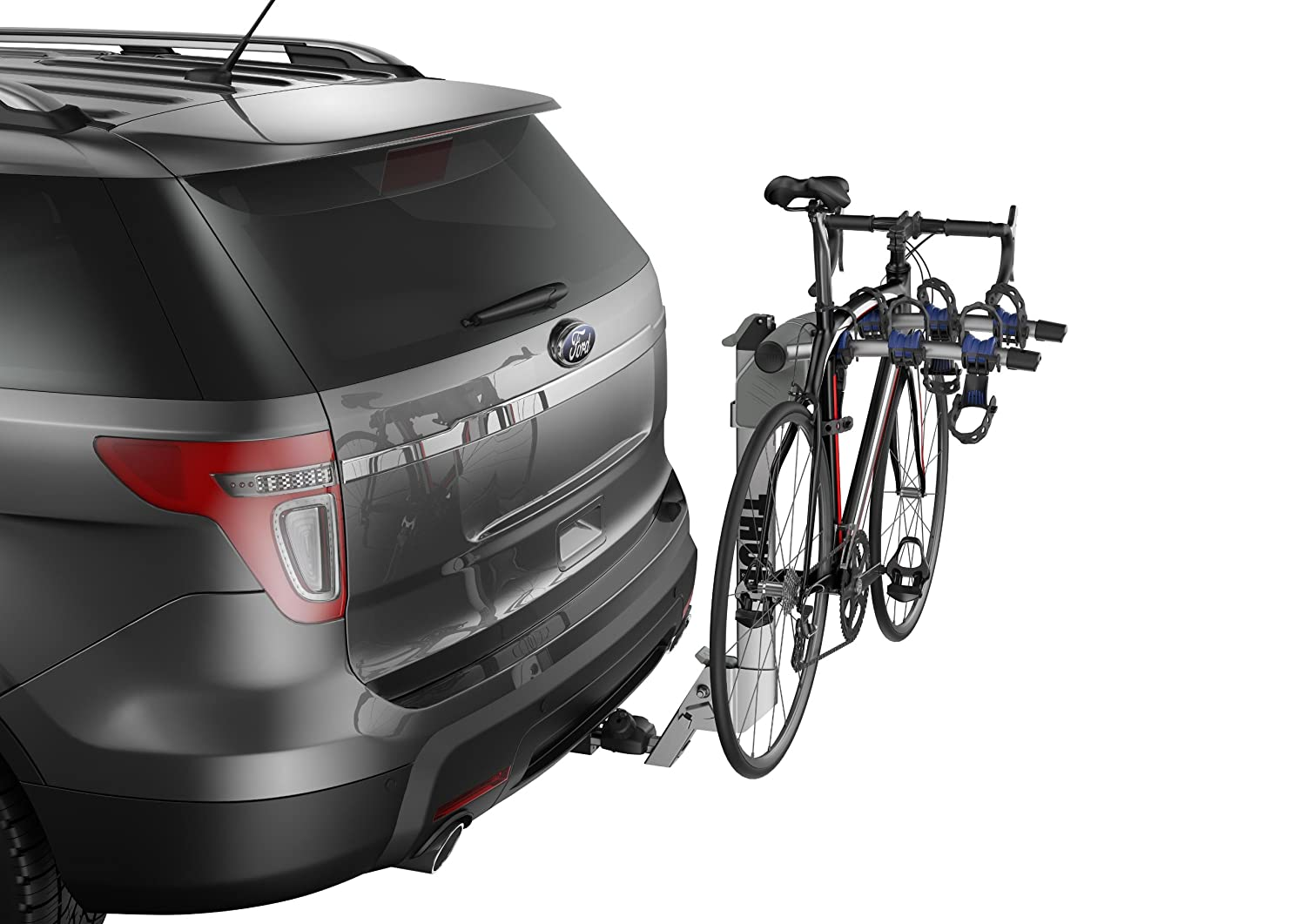 Amazon com thule 9042 helium aero 2 bike hitch carrier sports outdoors