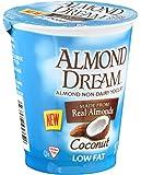 Almond Dream Non Dairy Low Fat Coconut Yogurt, 6 Ounce -- 12 per case.