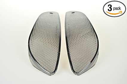 Amazon com: Motorcycle front turn signal (Smoked Lens) for BMW