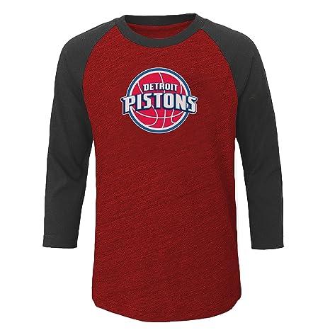 los angeles a79d7 73c67 Amazon.com : NBA Detroit Pistons Men's Big & Tall Team 3/4 ...