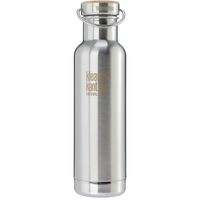 Klean Kanteen Classic Reflect Vacuum Insulated Botella, Acero Inoxidable Cepillado, One Size KLECB|#Klean Kanteen 1002728