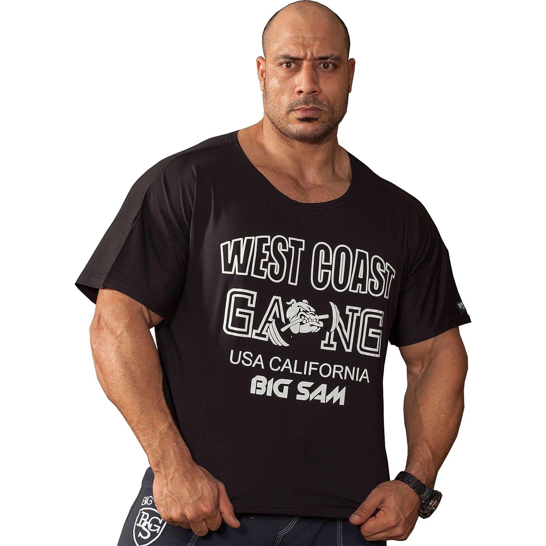 BIG SM EXTREME SPORTSWEAR Herren Ragtop Rag Top Sweater T-Shirt Bodybuilding 3030
