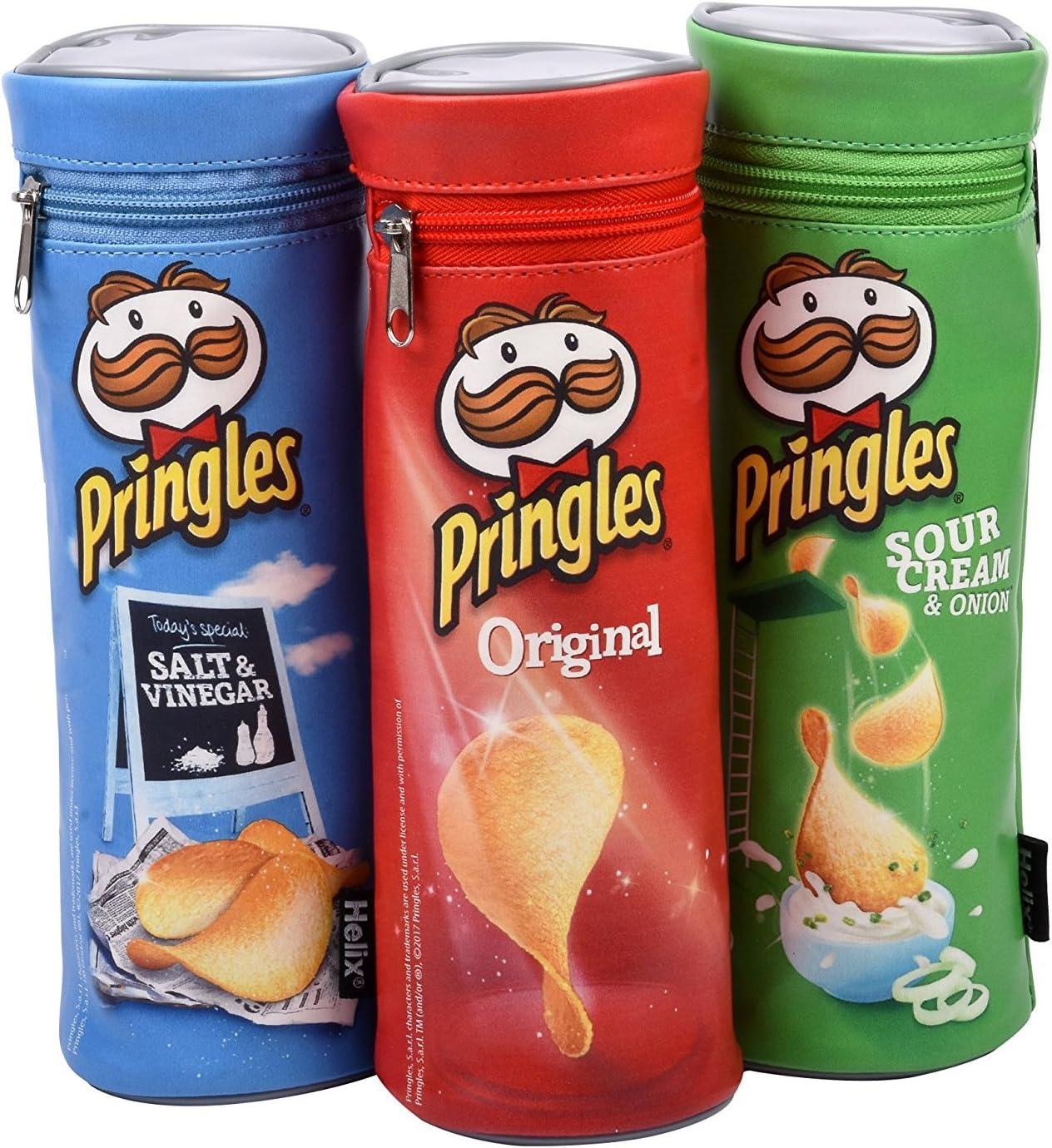 Bargain Gateway – Pringles lápiz Casos de Helix – Pack de todos ...